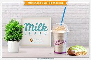 Milkshake Psd Mockup