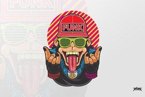 Monkey Funk - Vector