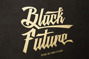 Black Future Typeface