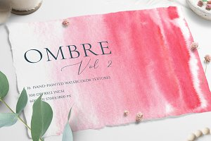 Ombre Watercolor Texture2 SALE
