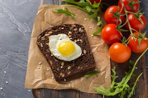Healthy food flatlay. Vegetables on