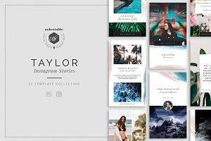 Taylor Instagram Stories