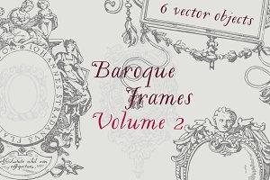 Baroque Frames Vector Pack Vol 2