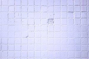 White vintage street wall texture ba