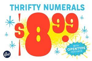 Thrifty Numerals