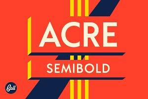 Acre Semibold