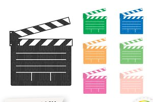 Clapperboard Cliparts