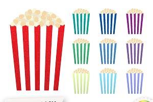 Popcorn Cliparts