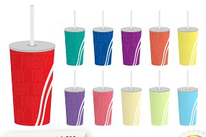 Straw Cup Clipart