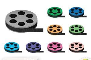 Movie Reel Cliparts