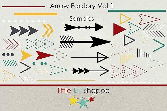 Arrow Factory Vol.1 - Brushes
