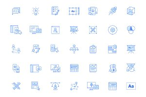 UX / UI icon pack