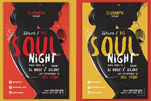 Soul Night Flyer
