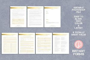 Photography Forms and Contract