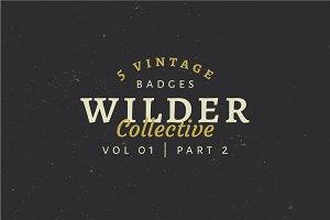 5 Vintage Badge Logos Vol 01 Part 2