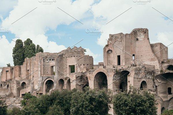 Ruins of Roman Forum in Rome, Itay ~ Photos ~ Creative Market