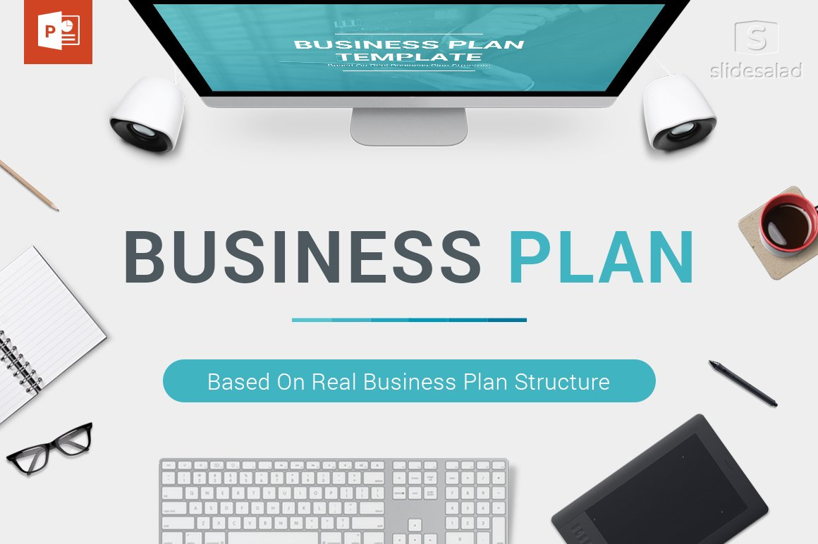 Business Plan PowerPoint Template Presentation Templates - Business plans template