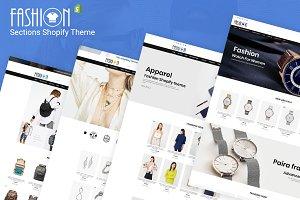 Fashion – Sections Shopify Theme