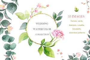 Wedding Watercolor Collection