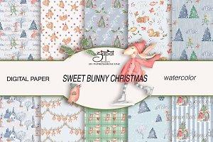 Sweet bunny Christmas