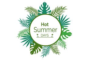 Hot Summer Days Promotional Poster