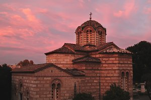 Old greek church.