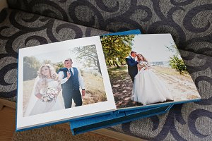 Wedding photobook or album