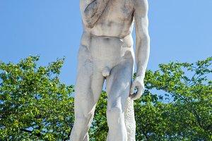 Statue in Tuileries Garden, Paris