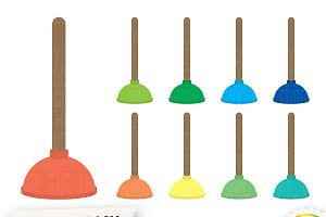 Plunger Clipart