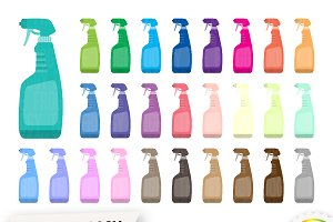 Spray Bottle Clipart