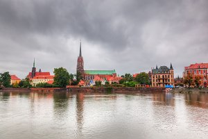 Ostrow Tumski - part of Wroclaw