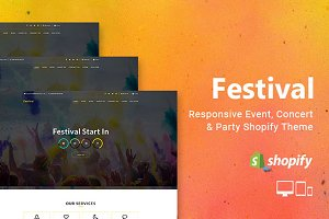 Festival - Section Shopify Theme