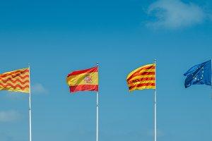European Union, Catalonian, Spanish