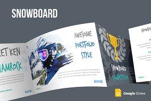 Snowboard Google Slides Template