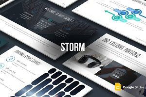Strom - Google Slides Template