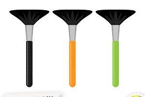 Makeup Brush Clipart