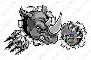 Rhino Gamer Holding Controller