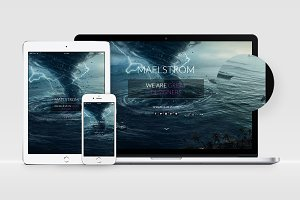 MAELSTROM - HTML5 & CSS3 Template
