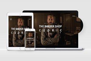 Cedric - Creative PSD Template