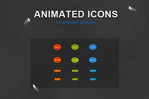Animated Icons 01