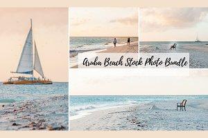 Aruba Beach Stock Photo Bundle