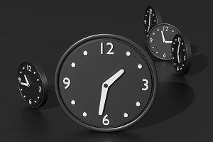Black clocks