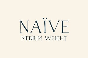 Naive (Medium weight)