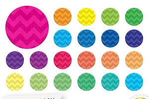 Chevron Circle Clipart
