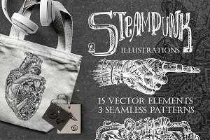 Steampunk illustrations part 1