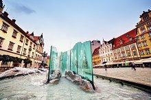 The market square, Wroclaw, Poland