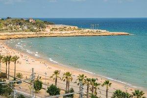 Miracle Beach, Tarragona, Spain