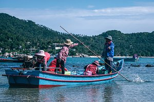 Koh Phangan Fishing Crew