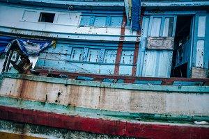 Sunken Boat Pattern