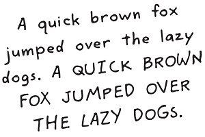 Murderino Unabomber Handwriting Font